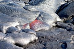 Hete Lava Stock Afbeeldingen