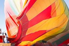 Hete Lucht Ballooning royalty-vrije stock fotografie