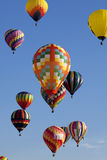 Hete Lucht Ballooning stock foto