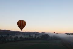 Hete Lucht Ballooning royalty-vrije stock foto