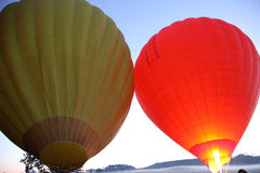 Hete Lucht Ballooning stock foto's
