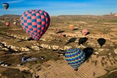 Hete lucht ballooning gebeurtenis royalty-vrije stock afbeeldingen
