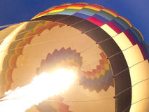 Hete Lucht Baloon Royalty-vrije Stock Afbeelding