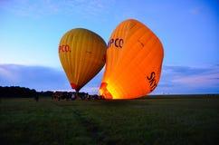 Hete lucht baloons Stock Foto's