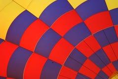 Hete luchtballon. Stock Foto's