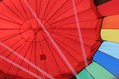 Hete luchtballon Stock Foto