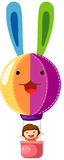 Hete luchtballon royalty-vrije illustratie