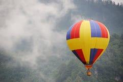 Hete luchtballon stock afbeelding