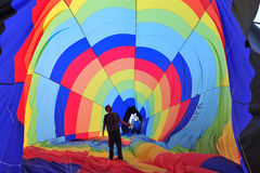Hete Luchtballon Royalty-vrije Stock Foto's