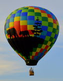 Hete Luchtballon 6 Royalty-vrije Stock Foto