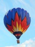 Hete luchtballon bij het eerste festival van de Hemel van luchtvaartkundemoskou (Moskovskoe Nebo), Moskou Augustus, 2014 Stock Foto