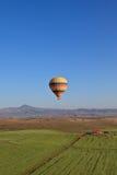 Hete luchtballon in Cappadocia, Turkije Stock Afbeelding