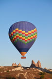 Hete luchtballon, Cappadocia, Turkije Stock Afbeelding