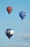 Hete luchtballons Royalty-vrije Stock Foto's