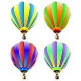 Hete luchtballons Royalty-vrije Stock Afbeelding