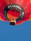 Hete luchtballons in Mondovi', Italië Royalty-vrije Stock Foto's
