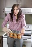 Hete muffin Royalty-vrije Stock Foto