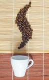 Hete ochtendkoffie Royalty-vrije Stock Afbeelding