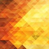 Hete Oranje en Gele Achtergrond Stock Foto's
