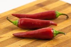 Hete Peper Stock Foto's