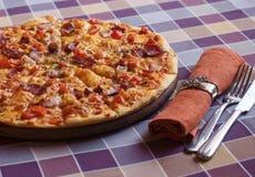 Hete Pizza Stock Afbeelding