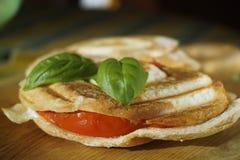 Hete sandwich Stock Fotografie