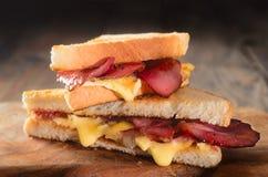 Hete sandwiches royalty-vrije stock foto