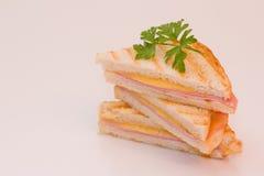 Hete sandwiches Royalty-vrije Stock Afbeelding