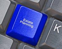 Hete sleutel voor landgoed planning stock foto