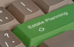 Hete sleutel voor landgoed planning stock afbeelding