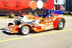 Hete staafraceauto Stock Afbeeldingen