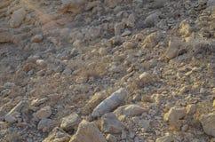 Hete steenwoestijn Royalty-vrije Stock Foto