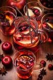 Hete stempel voor de winter en Kerstmis Stock Fotografie