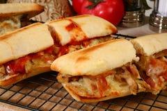 Hete SubSandwiches stock foto's