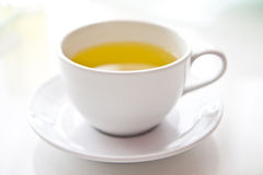Hete thee in witte koppen. royalty-vrije stock foto's