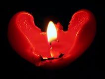 Hete Valentijnskaart Stock Afbeelding
