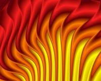 Hete Vlammen Vector Illustratie