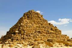 hetepherespyramidedrottning Arkivfoto