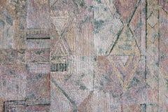 Heterogen textur av papperet på väggen Royaltyfria Foton