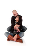 Heterosexual loving couple Royalty Free Stock Photo
