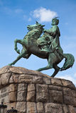 Hetman Bogdan Khmelnitsky statue in Kiev, Ukraine Royalty Free Stock Photography