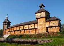Hetman's citadel in Baturyn stock photography