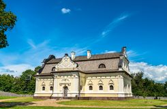 Hetmanu dom przy Baturyn fortecą w Ukraina obrazy royalty free