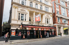 Hetty Feather billboard outside the Duke of York's Theatre, Lond Stock Photography