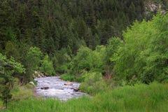 Hetzender Fluss Stockfoto