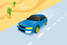 Hetzendes Auto Lizenzfreies Stockbild