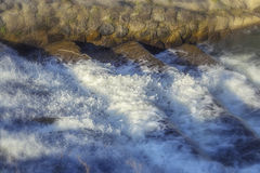 Hetzendes Wasser Stockbilder