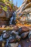 Heu-Nebenfluss-Fälle Colorado Lizenzfreie Stockfotografie