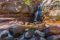 Heu-Nebenfluss-Fälle Colorado Lizenzfreies Stockbild