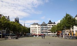 Heumarkt Cologne (Köln) Stock Photo